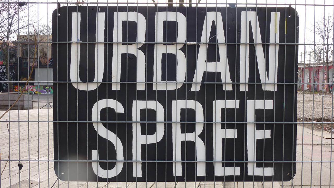 Das Kunsthaus Urban Spree in Friedrichshain.