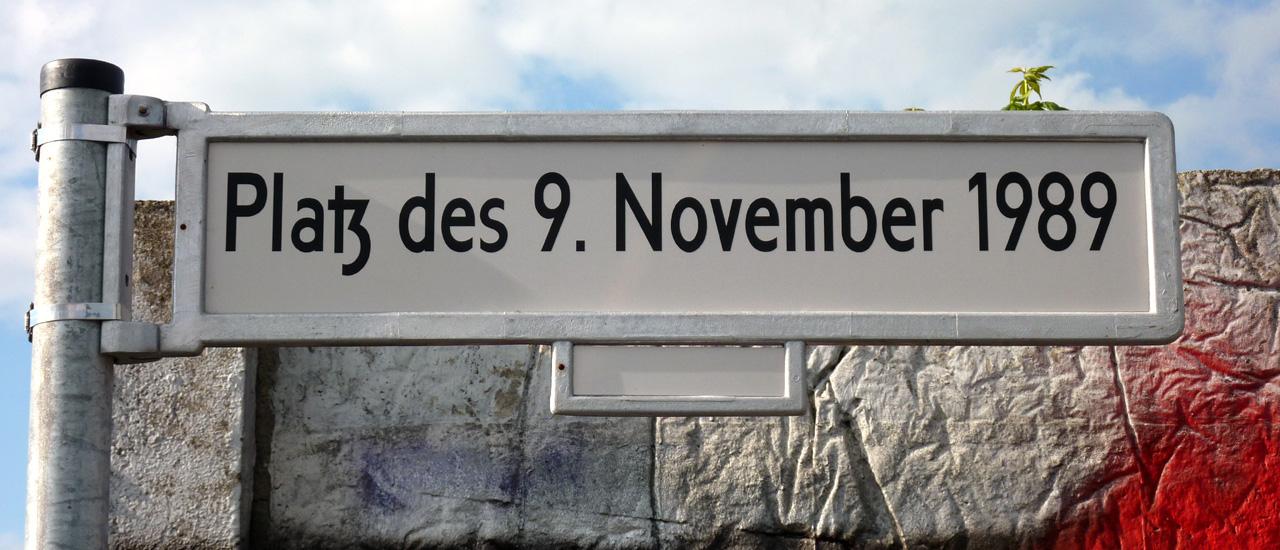 25 Jahre Mauerfall - hier an der Bösebrücke begann die glücklichste Nacht aller Berlinerinnen und Berliner.