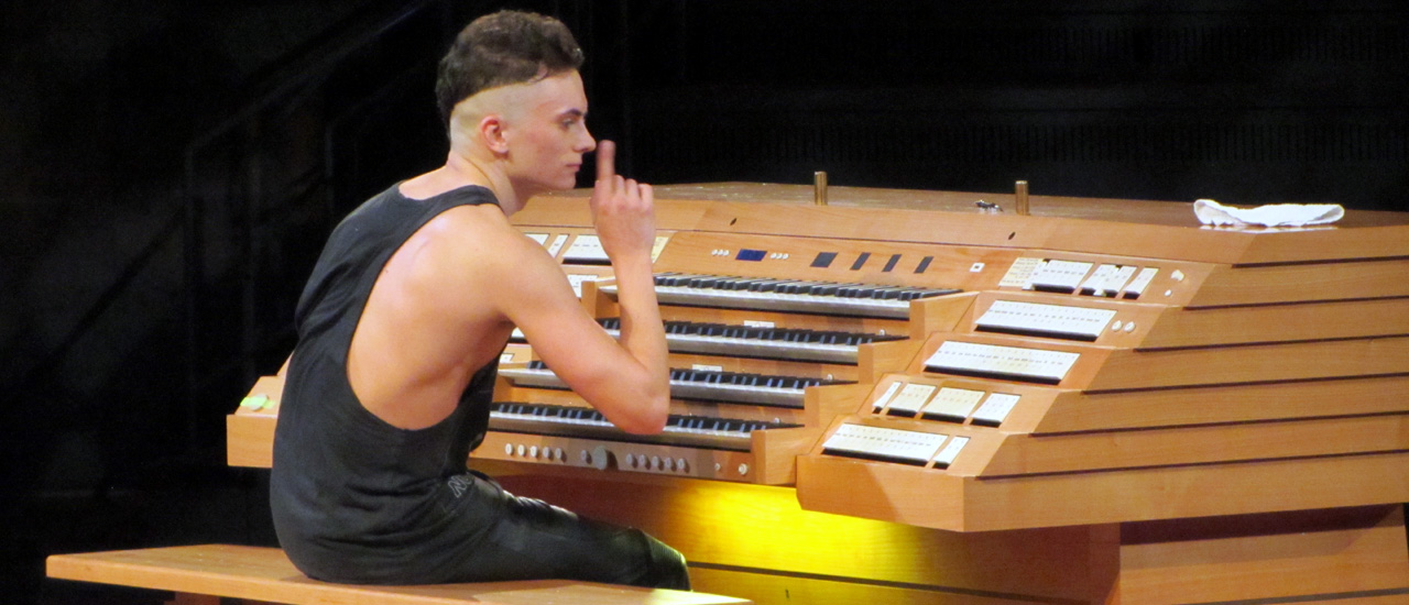 Seine Orgel kostet 1 Million Euro - Cameron Carpenter