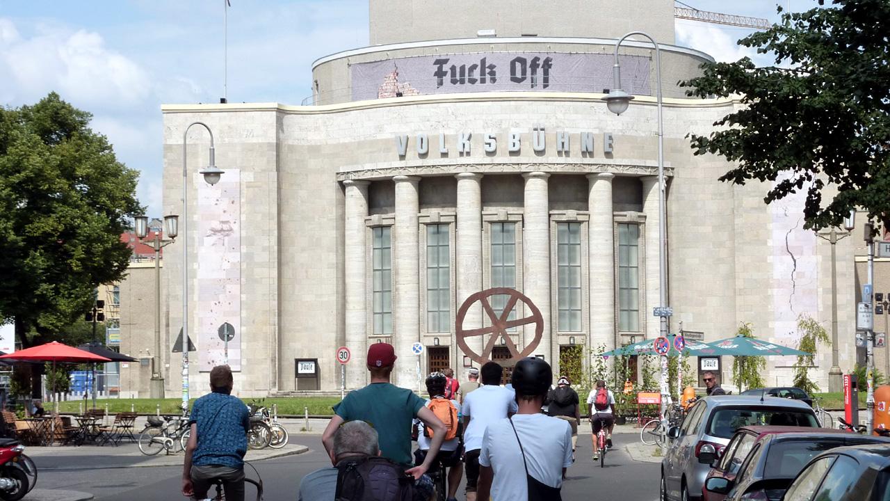 Critical Mass Berlin - Sonntagstour ©Orlando Mittmann