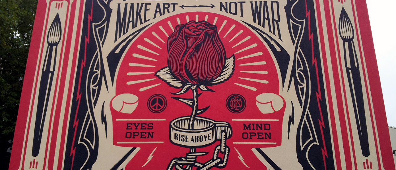 Make Art Not War