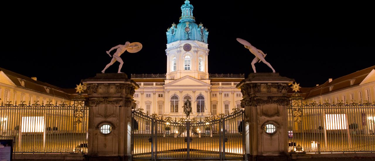 Schloss Charlottenburg Nacht