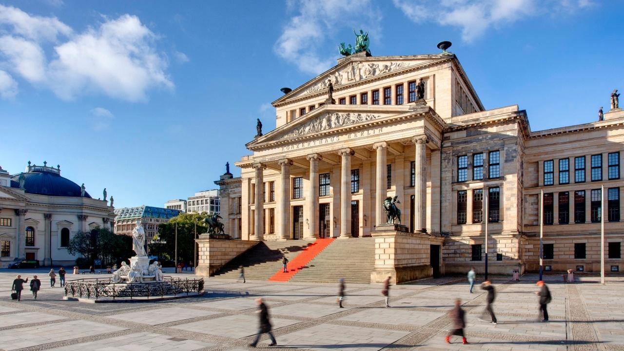 Konzerthaus am Gendarmenmarkt.