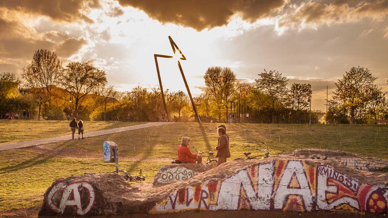 Cannabis liegt in der Luft im Görlitzer Park